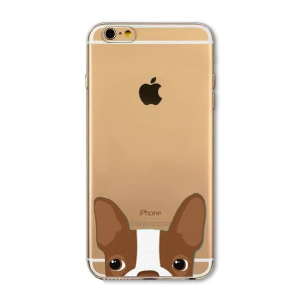 Super Cute Dog-Cat Phone Cases For Iphone 6 6S - 2D / For Iphone 6 6S - Iphone Cases & Bags - Paidcellphone