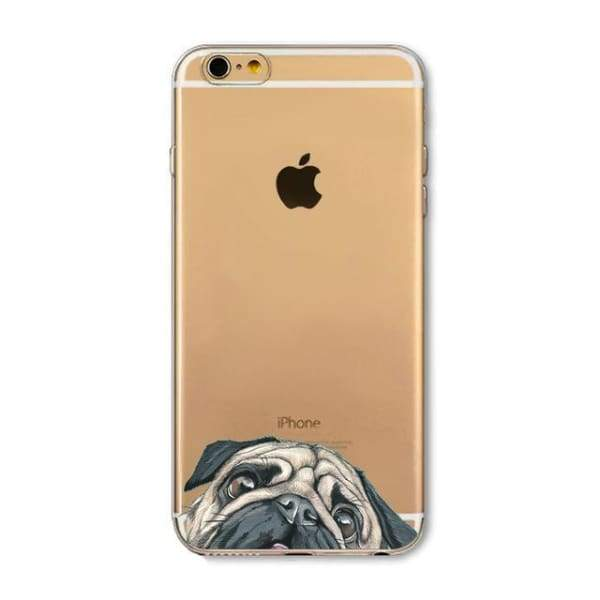 Super Cute Dog-Cat Phone Cases For Iphone 6 6S - 10D / For Iphone 6 6S - Iphone Cases & Bags - Paidcellphone