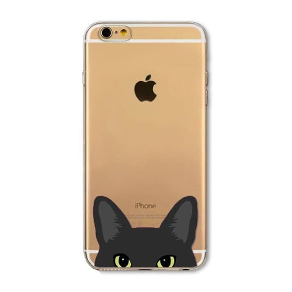 Super Cute Dog-Cat Phone Cases For Iphone 6 6S - 12D / For Iphone 6 6S - Iphone Cases & Bags - Paidcellphone
