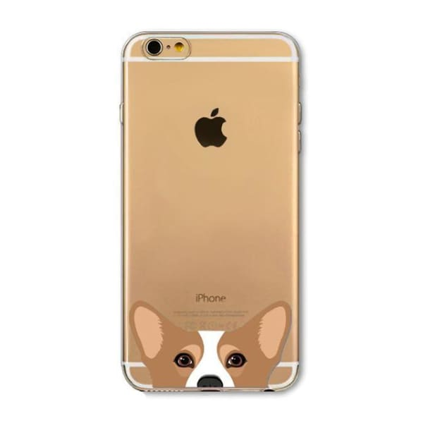 Super Cute Dog-Cat Phone Cases For Iphone 6 6S - 3D / For Iphone 6 6S - Iphone Cases & Bags - Paidcellphone