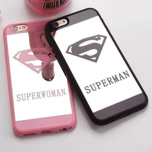 Superman Case For Iphone X /7/8 Plus /5(S) Se - Iphone Cases & Bags - Paidcellphone