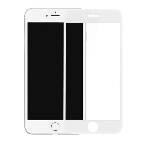 Thin Iphone Screen Protector For Iphone 7 /7 Plus /8 /8 Plus /x - Transparent White / For Iphone 7 8 - Screen Protectors - Paidcellphone