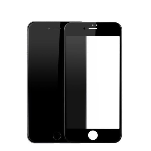 Thin Iphone Screen Protector For Iphone 7 /7 Plus /8 /8 Plus /x - Transparent Black / For Iphone 7 8 - Screen Protectors - Paidcellphone