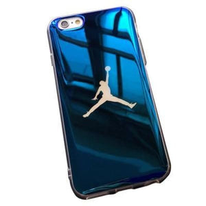 Tpu Soft Case For Iphone X /7/8 Plus /6(S) Plus Michael Jordan Nba - Blue / For Iphone 6 6S - Iphone Cases & Bags - Paidcellphone