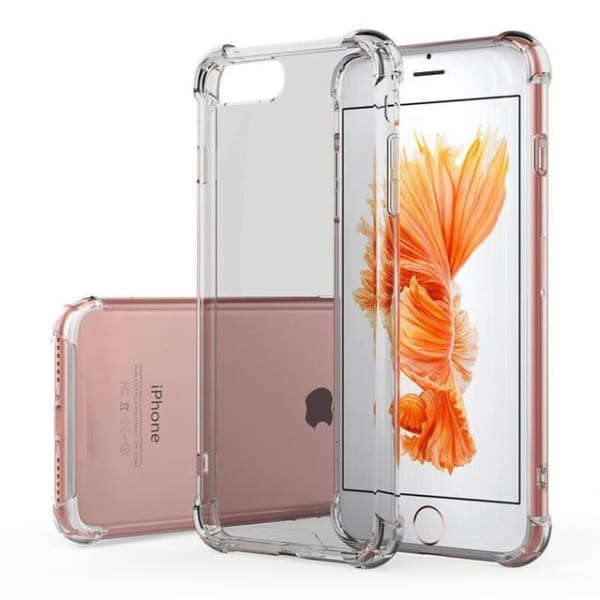 Transparent Cover For Iphone 8 7 Plus Bumper Conque - Gray / For Iphone 8 7 - Iphone Cases & Bags - Paidcellphone