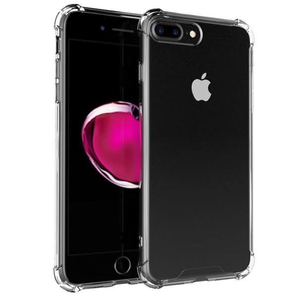 Transparent Cover For Iphone 8 7 Plus Bumper Conque - Iphone Cases & Bags - Paidcellphone