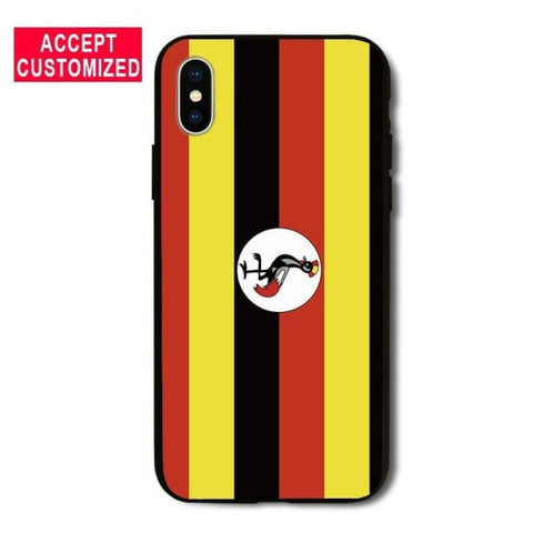 Uganda Iphone Cover Case For Iphone /5 /5S Se /6 /6S /7 /8 Plus /x - Iphone Cases & Bags - Paidcellphone
