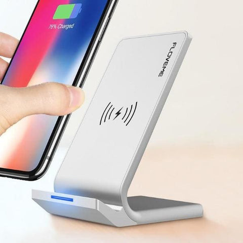 Universal Qi Fast Wireless Charger For Iphone X /xs Max /xr - Chargers & Cables - Paidcellphone