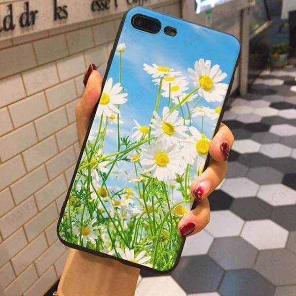 Wild Flowers Iphone Case For Iphone 5 /5S /5Se /6 /6S /7 /7Plus /8 /8Plus - 4 / For Iphone 5 5S Se - Iphone Cases & Bags - Paidcellphone