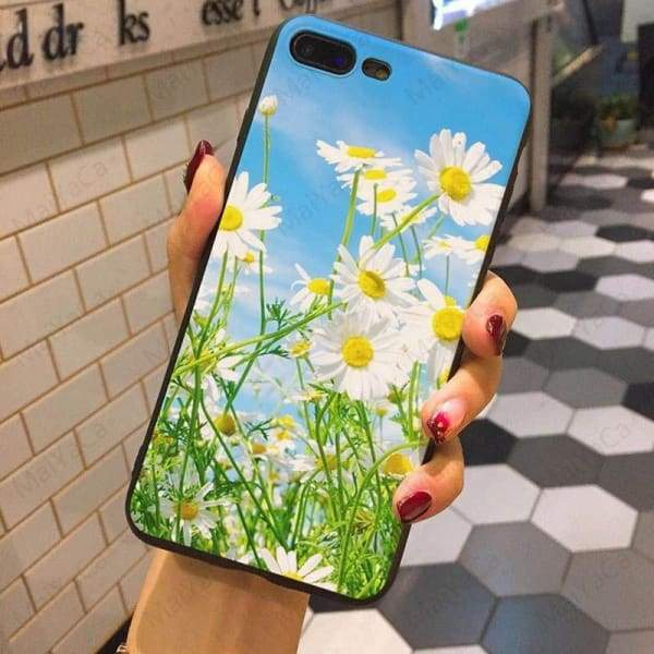 Wild Flowers Iphone Case For Iphone 5 /5S /5Se /6 /6S /7 /7Plus /8 /8Plus - Iphone Cases & Bags - Paidcellphone
