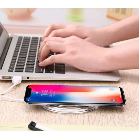 Wireless Charger For Iphone X /8 Plus - Chargers & Cables - Paidcellphone