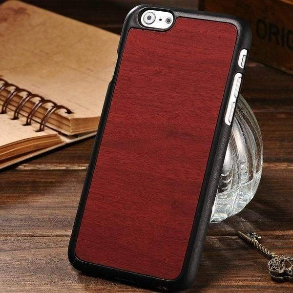Woody Texture Case For Iphone 6 /6S - Red - Iphone Cases & Bags - Paidcellphone