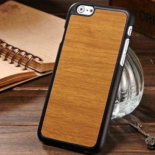 Woody Texture Case For Iphone 6 /6S - Yellow - Iphone Cases & Bags - Paidcellphone