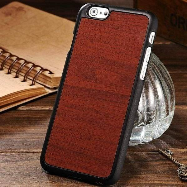 Woody Texture Case For Iphone 6 /6S - Brown - Iphone Cases & Bags - Paidcellphone