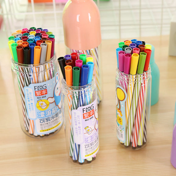 86Pcs Painting Pen School Watercolor Pens Supplies Stationery Creative Kids Kits