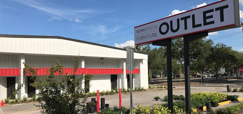Scan Design Outlet in Altamonte Springs, Florida