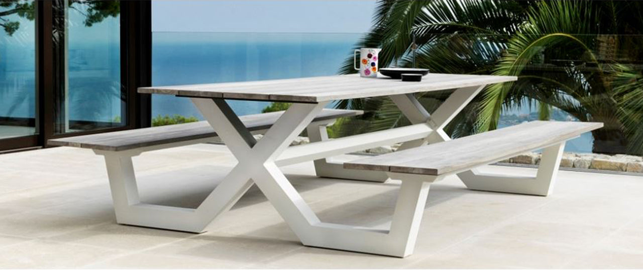 Modern Outdoor Patio Furniture Contemporary Design In Wood And Metal Scan Design Furniture