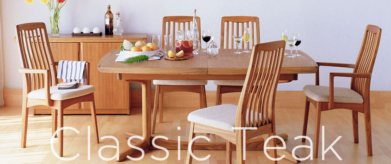 classic teak 1016 dining chair - Scandinavian Teak Dining Room Furniture