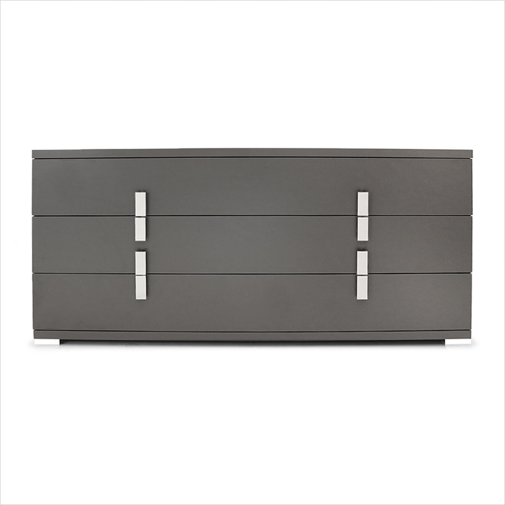 grey 3-drawer dresser