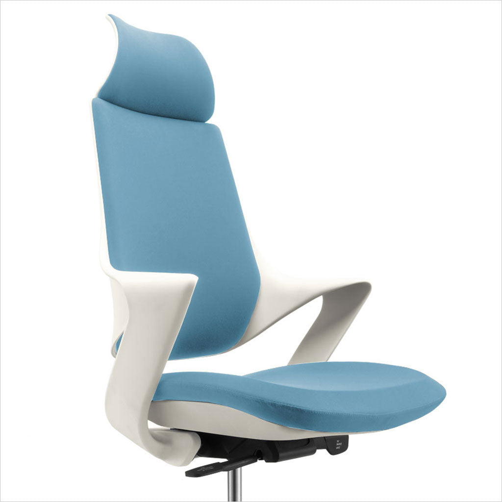 contemporary high-back office chair