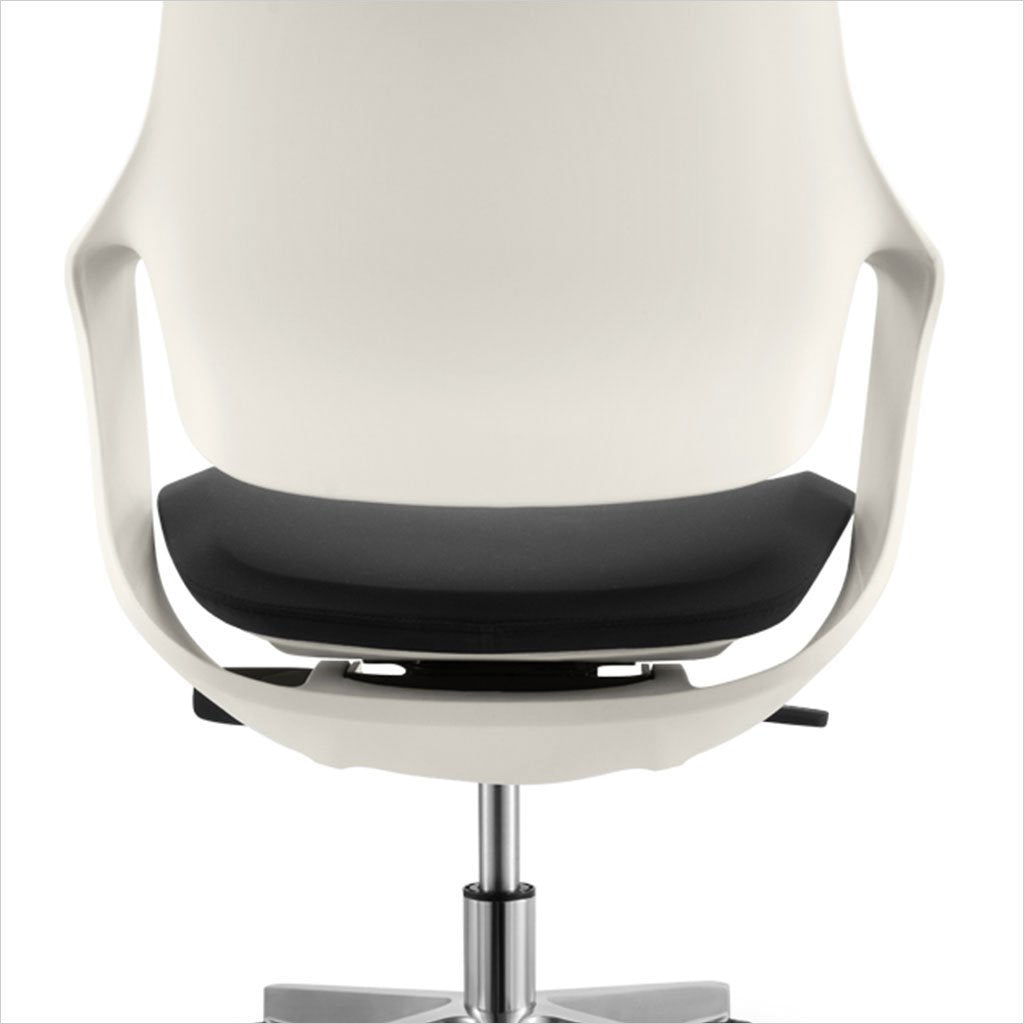 contemporary low-back desk chair