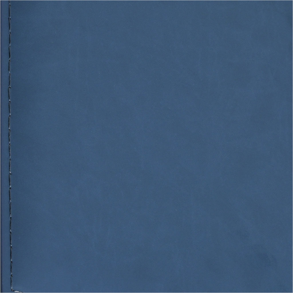 blue  eco-leather swatch