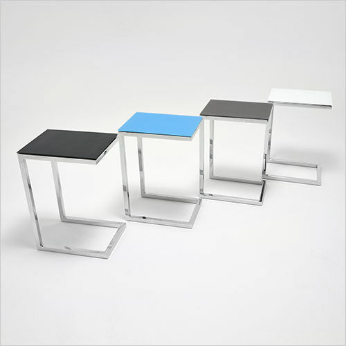 cantilevered accent table