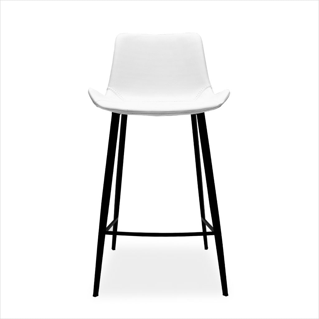 Image of: Fame Counter Stool White Scan Design Modern And Contemporary Furniture Store