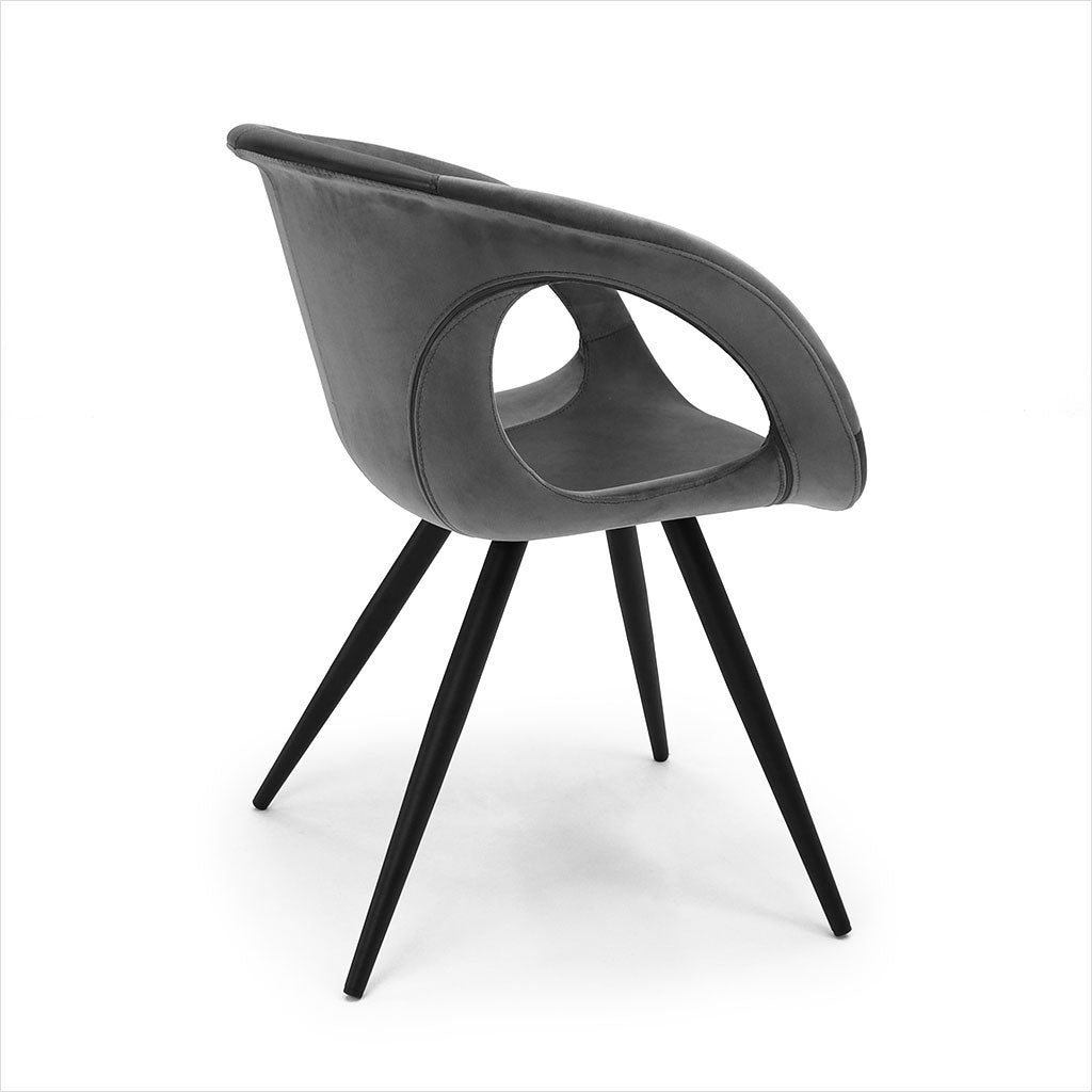 grey dining chair