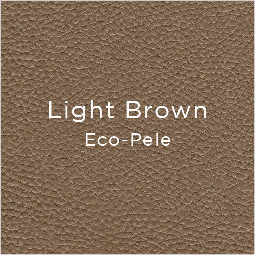 light brown eco-pele leather swatch