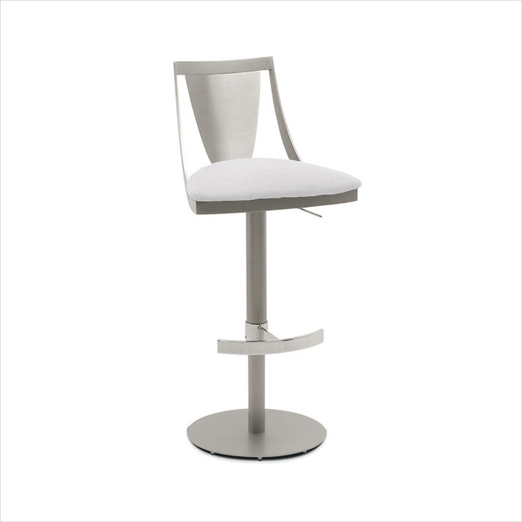 adjustable barstool with pedestal base
