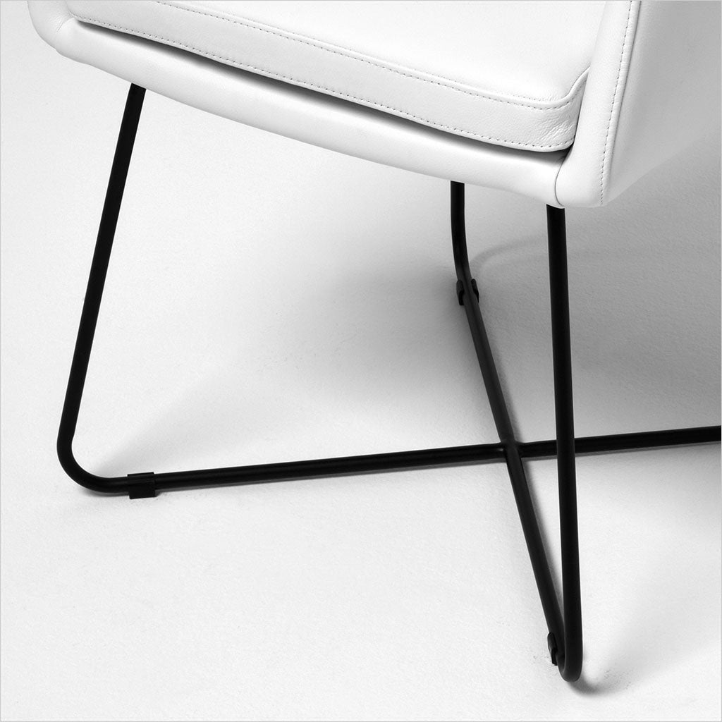 Julia Dining Armchair - White