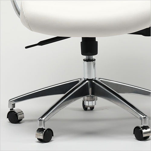 high back office chair with castors