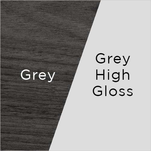 grey wood and grey high gloss swatch