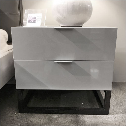 nightstand in high gloss finish