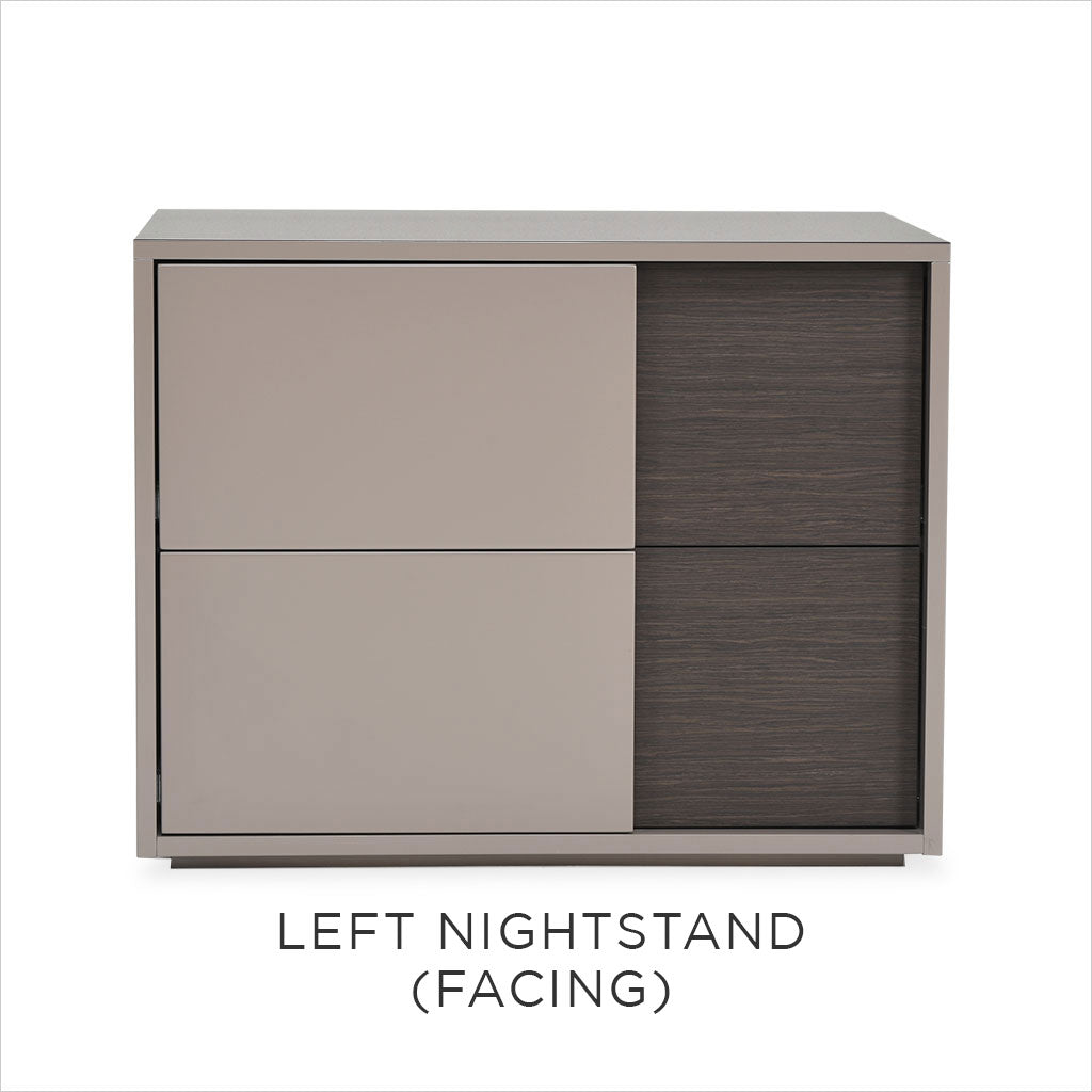 taupe nightstand