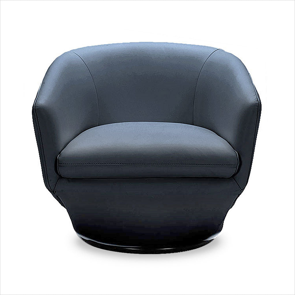 Capri Swivel Chair Blue Scan Design Modern And Contemporary Furniture Store