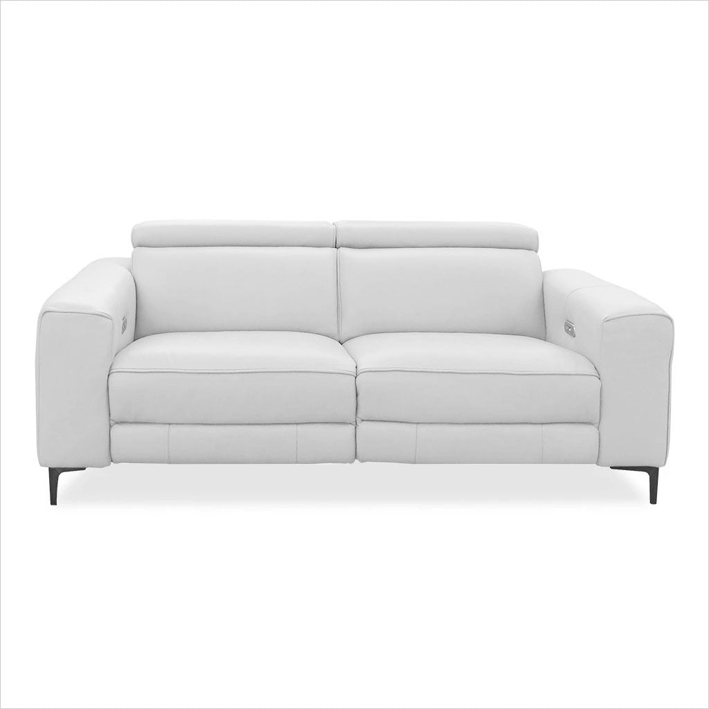 Admirable Esther Recliner Loveseat White Gmtry Best Dining Table And Chair Ideas Images Gmtryco