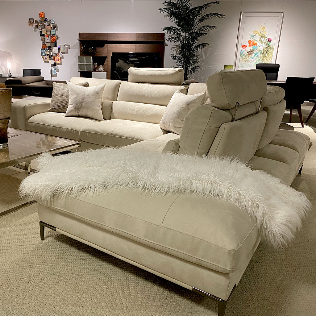 Memphis Sectional - Bone