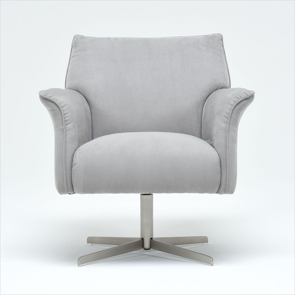 Amazing Perno Swivel Chair Grey Pdpeps Interior Chair Design Pdpepsorg