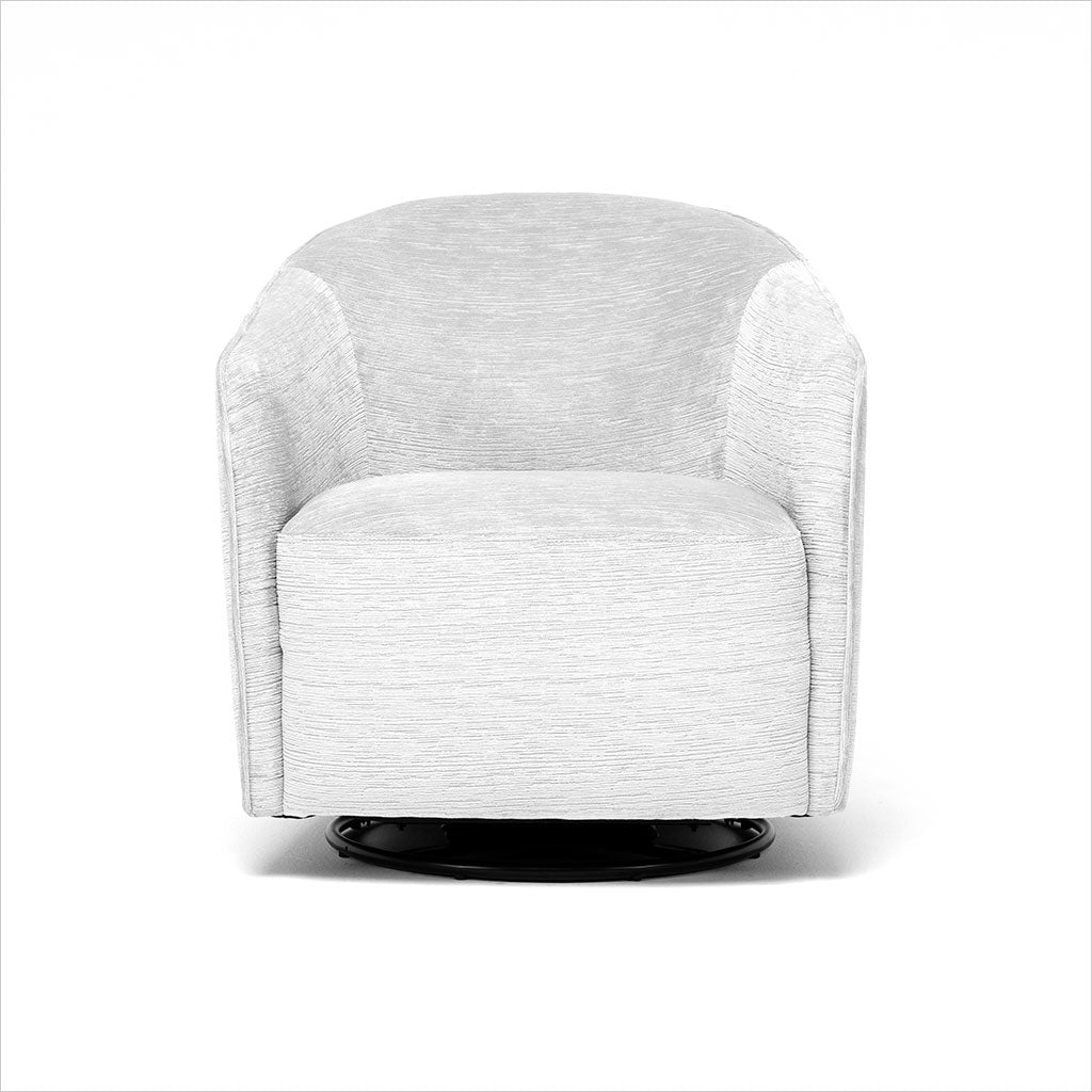 Rene Swivel Chair Light Grey Scan Design Modern And Contemporary Furniture Store