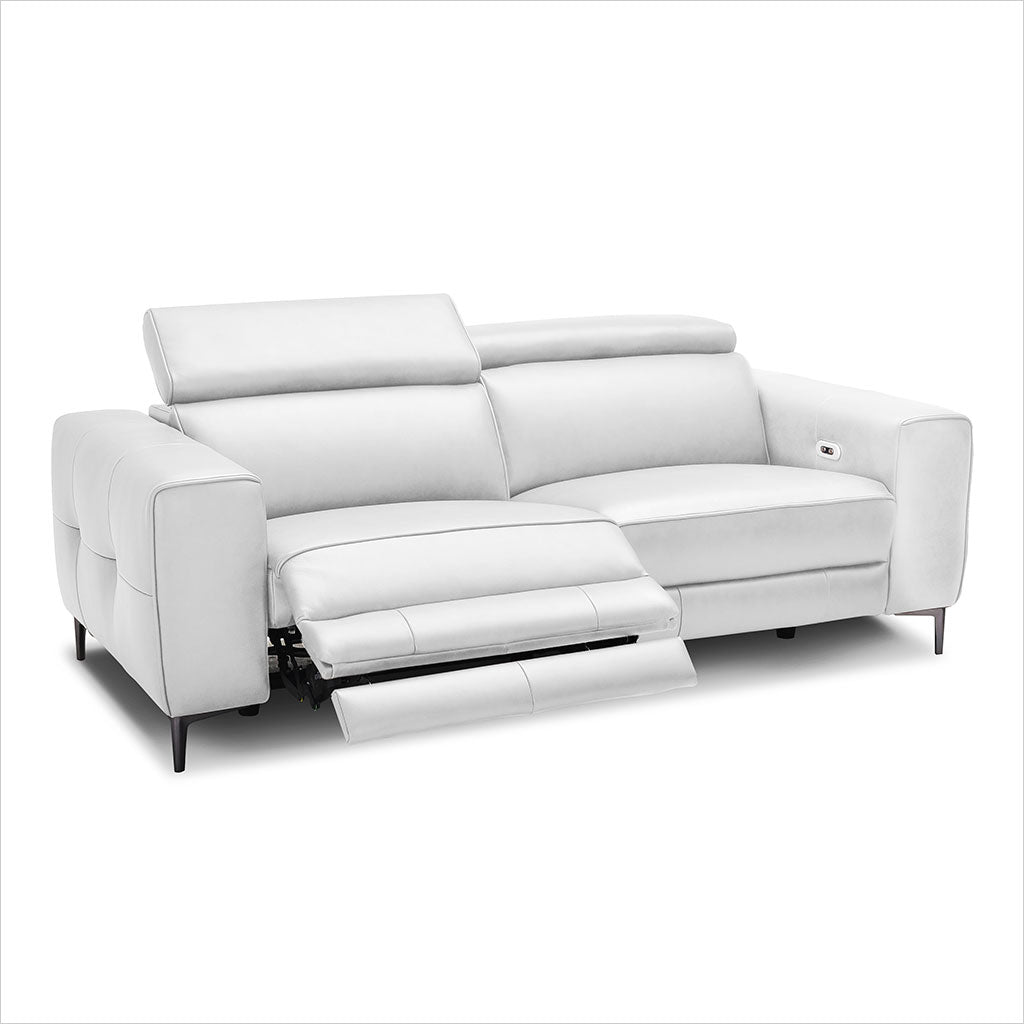 Picture of: Esther Recliner Loveseat White Scan Design Modern And Contemporary Furniture Store