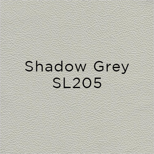 shadow grey leather swatch