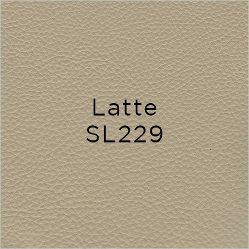 latte leather swatch