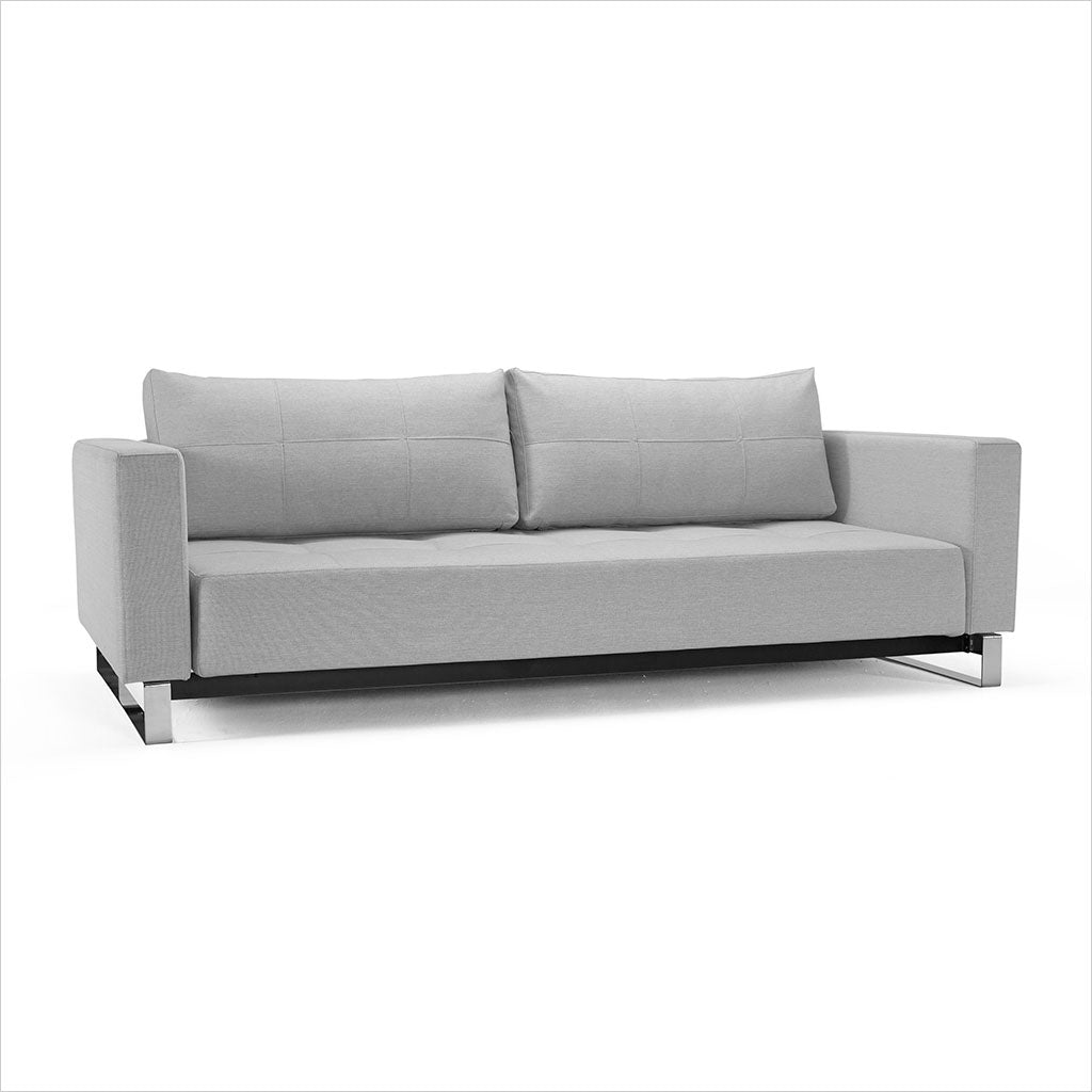 Clay Sleeper Sofa - Light Grey