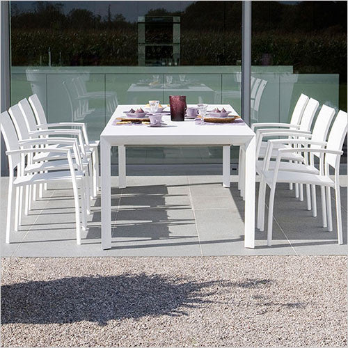 outdoor over-sized dining table