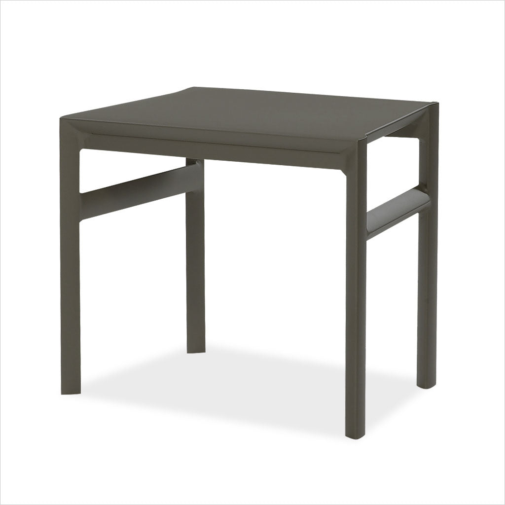 aluminum outdoor stool or accent table