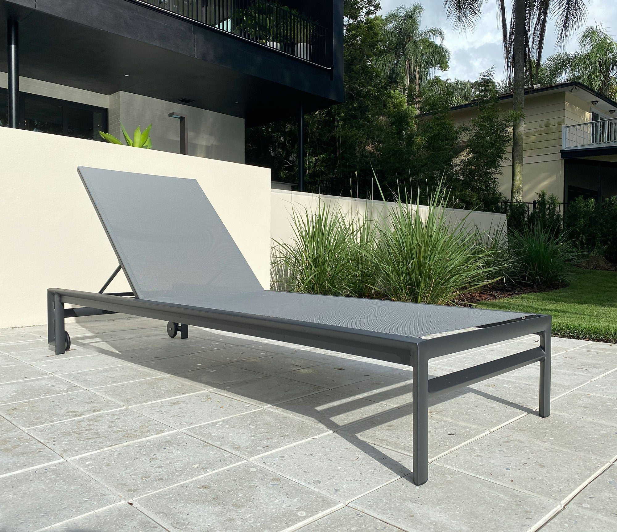 Aspen Chaise - Charcoal