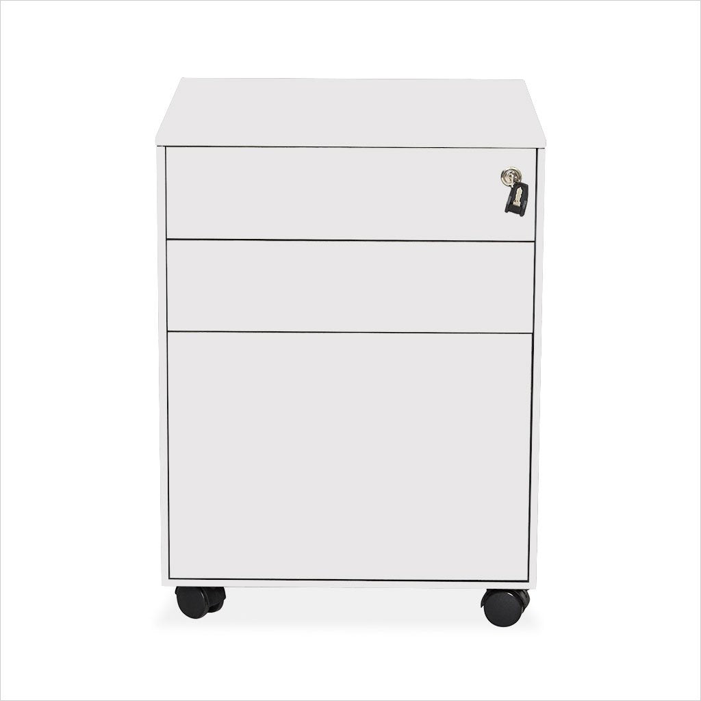 Evolution Mobile Pedestal - White