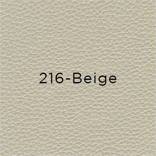 beige leather swatch